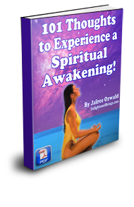 A spiritually awakening e-book that will open you up to profound inner peace and a spiritual experience of life!